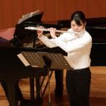 フルート:関口 澄香 (東京都立杉並高等学校 2年)