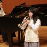 トランペット:小林 莉緒 (茨城県立水戸第一高等学校 1年)