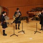 静岡県 浜松学芸高等学校 ホルン三重奏