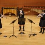 栃木県・宇都宮短期大学附属高等学校 トランペット三重奏