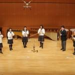 東京都・創価高等学校 木管八重奏