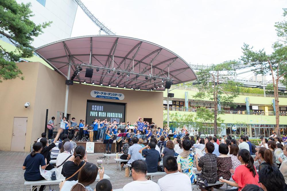 【7月22日開催】ラクーア ガーデンステージにてSHOBI スペシャルライブを行います!