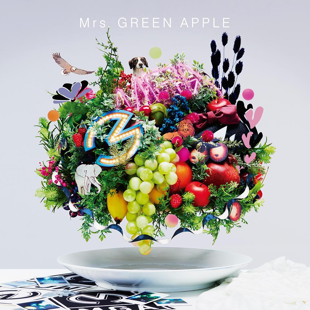 【卒業生の活躍】プロミュージシャン学科卒業生山中綾華さん所属のMrs. GREEN APPLE ベストアルバム『5』が初登場1位を獲得しました!